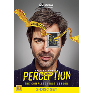 Perception - Sesong 1 (UK-import) (DVD)