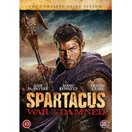 Spartacus - War Of The Damned - Sesong 3 (DVD)