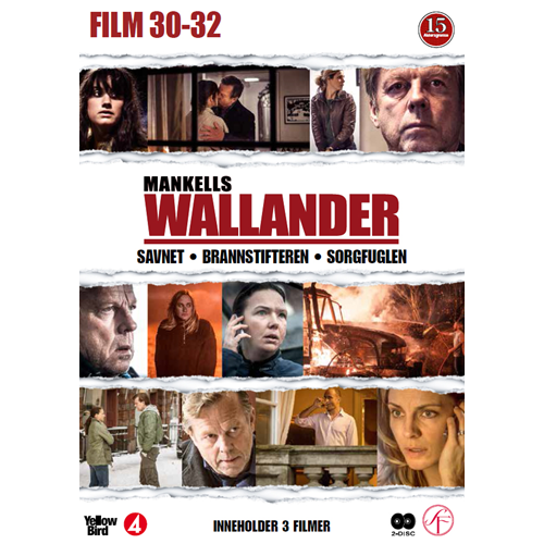 Wallander - Film 30 - 32 (DVD)