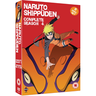 Naruto Shippuden - The Complete Series 4 (UK-import) (DVD)
