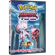 Pokemon The Movie: Genesect And The Legend Awakened (DVD - SONE 1)
