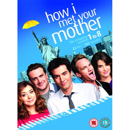 How I Met Your Mother - Sesong 1 - 8 (UK-import) (DVD)