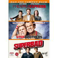 Pineapple Express / Step Brothers / Superbad (DVD)