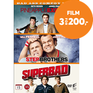 Produktbilde for Pineapple Express / Step Brothers / Superbad (DVD)