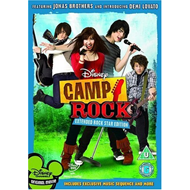 Camp Rock - Extended Rock Star Edition (UK-import) (DVD)