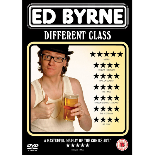 Ed Byrne - Different Class (UK-import) (DVD)