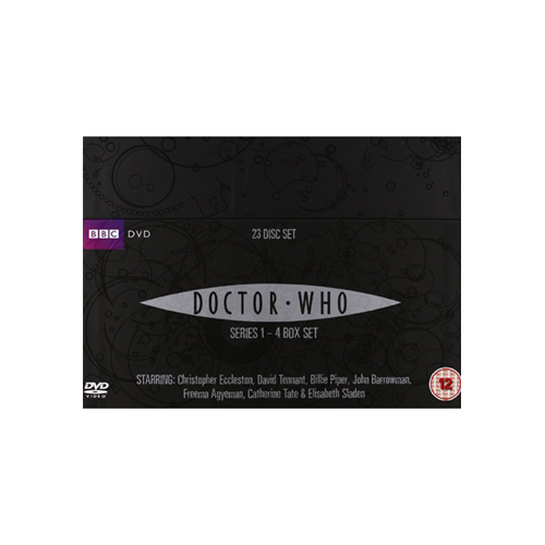 Doctor Who - Sesong 1 - 4 (UK-import) (DVD)