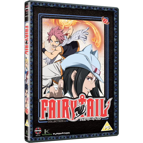 Fairy Tail - Del 6 (UK-import) (DVD)
