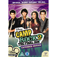 Camp Rock 2 - The Final Jam - Extended Edition (UK-import) (DVD)