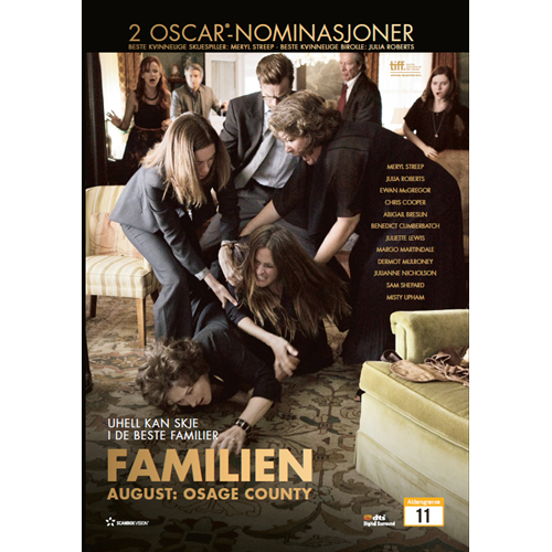 Familien August: Osage County (DVD)