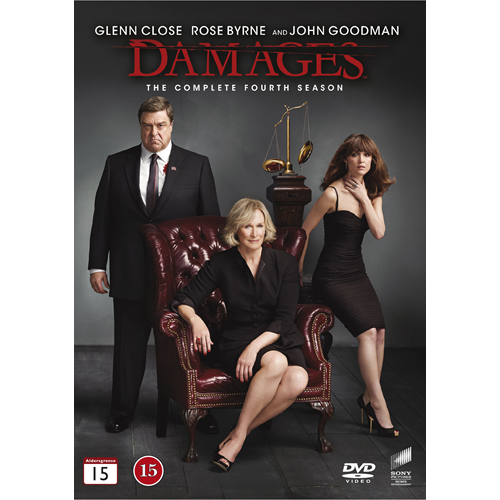 Damages - Sesong 4 (DVD)
