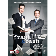 Franklin & Bash - Sesong 2 (DVD)