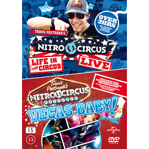 Nitro Circus - Life In The Circus / Vegas Baby! (DVD)