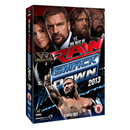 WWE: The Best Of RAW And SmackDown 2013 (UK-import) (DVD)