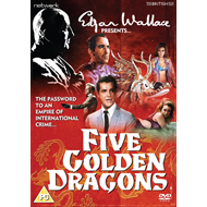 Edgar Wallace Presents: Five Golden Dragons (UK-import) (DVD)