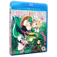 Sword Art Online - Part 3 (UK-import) (Blu-ray + DVD)