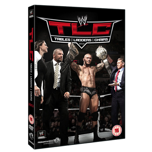 WWE: TLC - Tables, Ladders & Chairs 2013 (UK-import) (DVD)