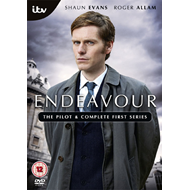 Endeavour - Sesong 1 + Pilot (UK-import) (DVD)