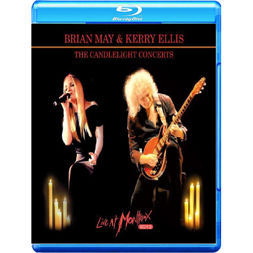 Brian May & Kerry Ellis - The Candlelight Concerts Live At Montreux 2013 (Blu-ray + CD)