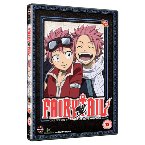 Fairy Tail - Del 7 (UK-import) (DVD)