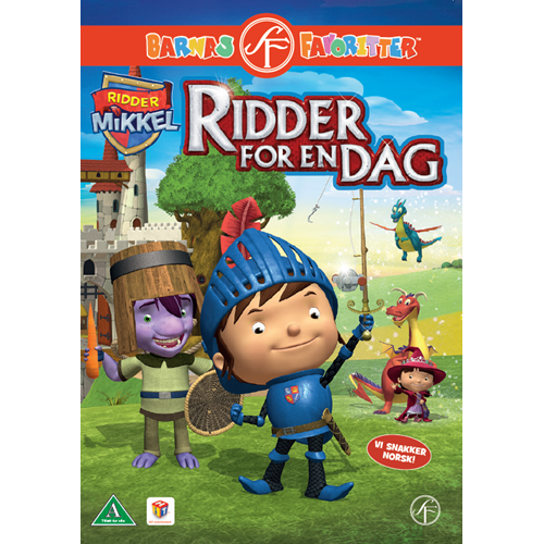 Ridder Mikkel - Ridder For En Dag (DVD)