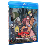 Naruto Shippuden - Movie 4 - The Lost Tower (UK-import) (Blu-ray + DVD)