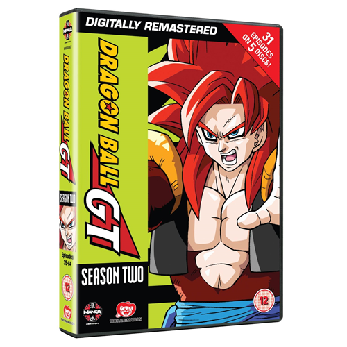 Dragon Ball GT - Complete Series 2 (UK-import) (DVD)