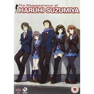 The Disappearance Of Haruhi Suzimiya (UK-import) (DVD)