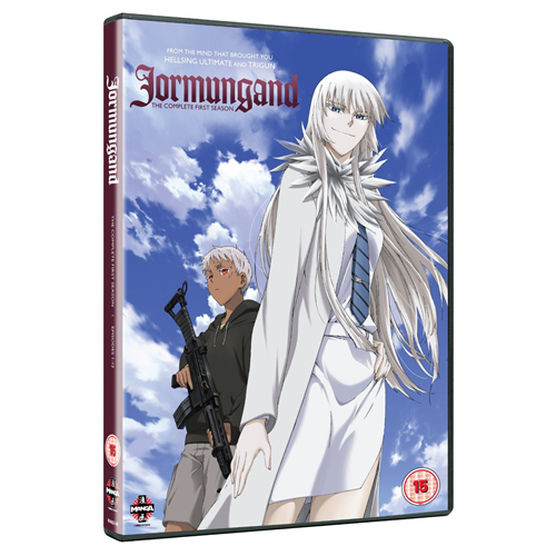 Jormungand - The Complete First Season (UK-import) (DVD)
