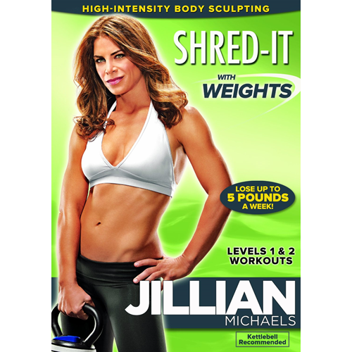 Jillian Michaels - Shred It With Weights (UK-import) (DVD)