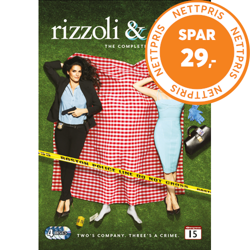 Rizzoli & Isles - Sesong 4 (DVD)