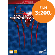 The Amazing Spider Man 1 & 2 (DK-import) (DVD)