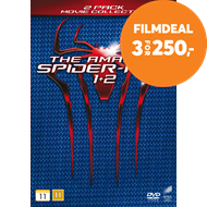 Produktbilde for The Amazing Spider Man 1 & 2 (DK-import) (DVD)