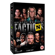 WWE Presents: Wrestling's Greatest Factions (UK-import) (DVD)