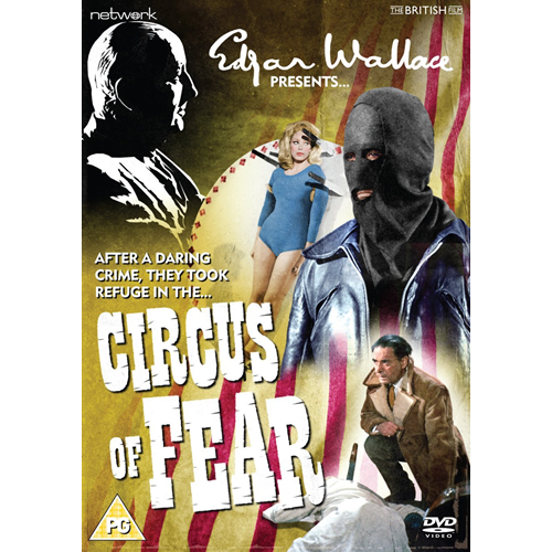 Edgar Wallace Presents: Circus Of Fear (UK-import) (DVD)