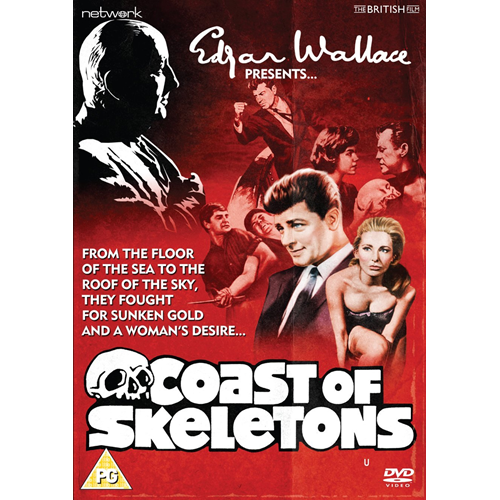 Edgar Wallace Presents: Coast Of Skeletons (UK-import) (DVD)