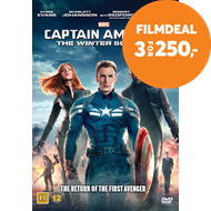 Produktbilde for Captain America 2 - The Winter Soldier (DVD)