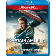 Captain America 2 - The Winter Soldier (Blu-ray 3D + Blu-ray)