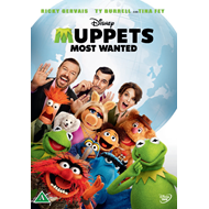 Muppets Most Wanted (UK-import) (DVD)