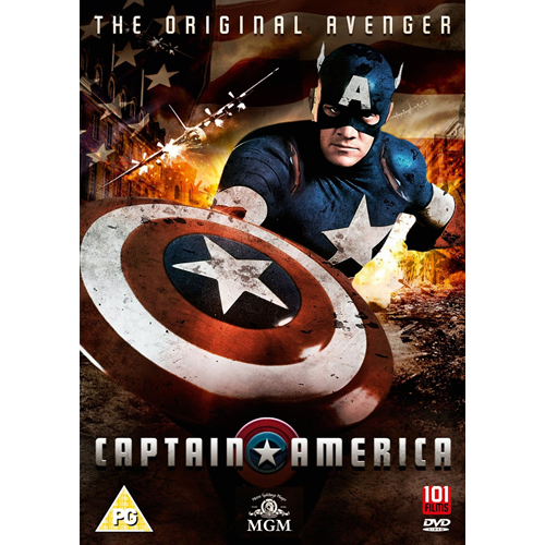 Captain America (UK-import) (DVD)