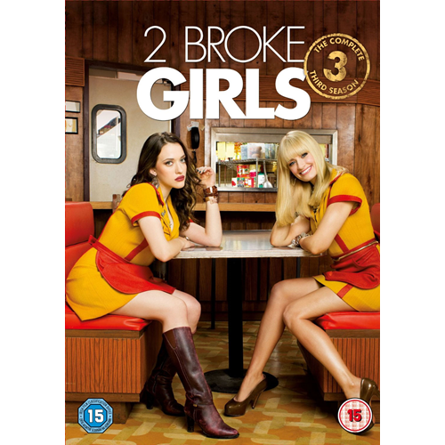 2 Broke Girls - Sesong 3 (UK-import) (DVD)