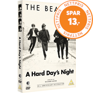 Produktbilde for The Beatles - A Hard Day's Night - 50th Anniversary Restoration (UK-import) (DVD)