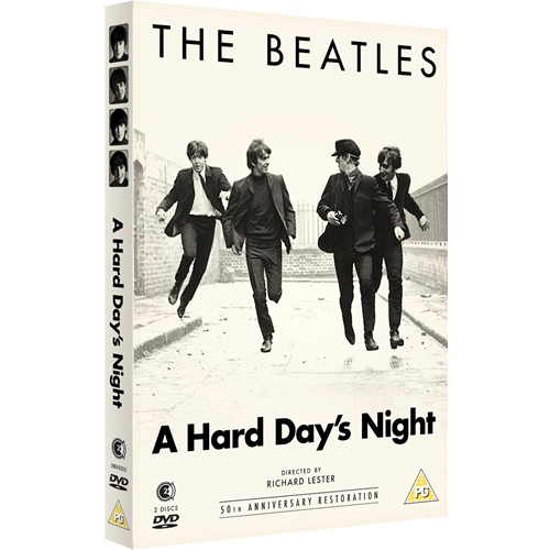 The Beatles - A Hard Day's Night - 50th Anniversary Restoration (UK-import) (DVD)