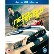 Need For Speed (UK-import) (Blu-ray 3D + Blu-ray)