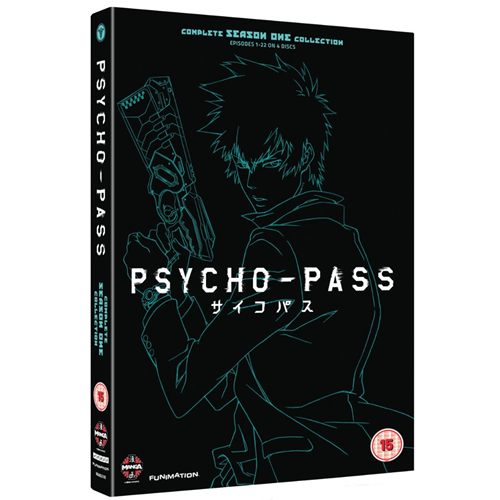 Psycho-Pass - Complete Season One Collection (UK-import) (DVD)