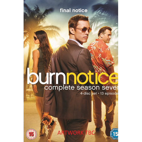 Burn Notice - Sesong 7 (UK-import) (DVD)