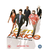 Burn Notice - The Complete Series (UK-import) (DVD)