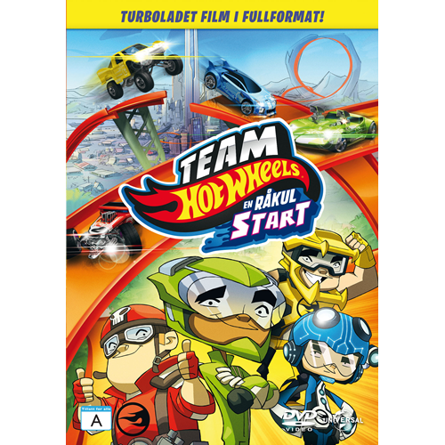 Team Hot Wheels - En Råkul Start (DVD)