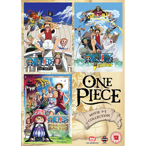 One Piece - Movie 1 - 3 Collection (UK-import) (DVD)
