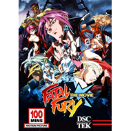 Fatal Fury - The Movie (DVD - SONE 1)